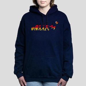 German Football Evolution Hooded Sweatshirt