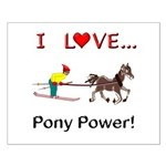 I Love Pony Power Small Poster