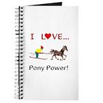 I Love Pony Power Journal