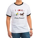 I Love Pony Power Ringer T