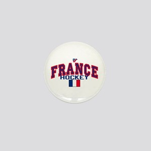 FR France Hockey Mini Button