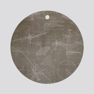 Aerodynamics Ornament (Round)