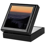 Sunset at Shelter Cove Keepsake Box