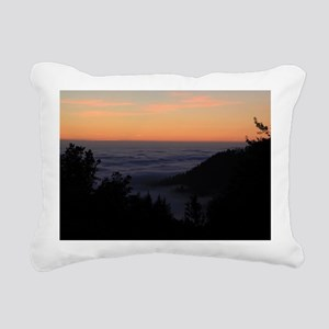 Sunset At Shelter Cove Rectangular Canvas Pillow