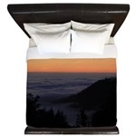 Sunset At Shelter Cove King Duvet