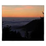 Sunset At Shelter Cove King Duvet