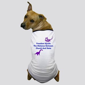 Separation Of Church And State Dog T-Shirt