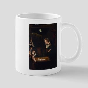 Nativity at Night Mugs