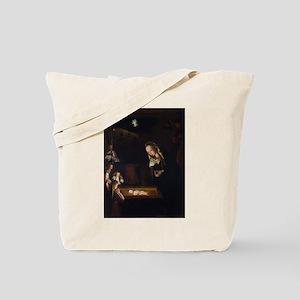 Nativity at Night Tote Bag