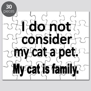 I do not consider my cat a pet Puzzle