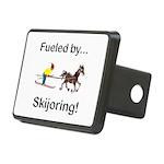 Skijoring Horse Rectangular Hitch Cover
