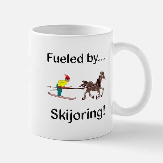 Skijoring Horse Mug