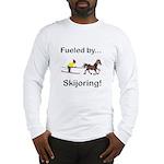 Skijoring Horse Long Sleeve T-Shirt