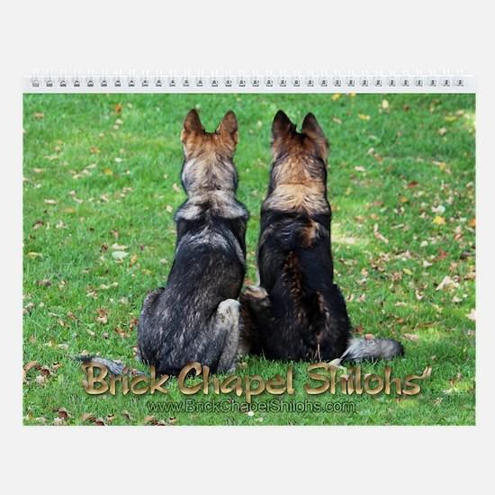 2014 Brick Chapel Wall Calendar