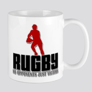 Rugby No Opponents Just Victims Mug