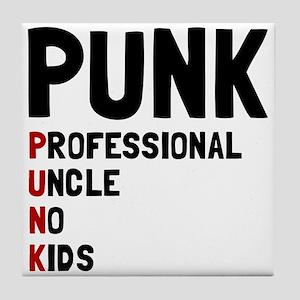 Punk Professional Uncle Tile Coaster