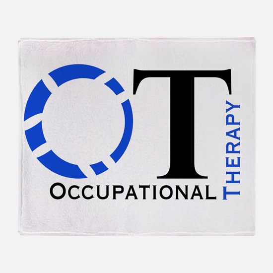 OT Occupational Therapy Throw Blanket