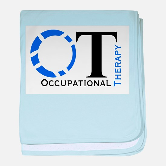 OT Occupational Therapy baby blanket