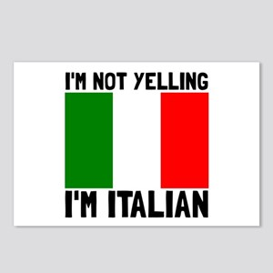 Yelling Italian Postcards (Package of 8)