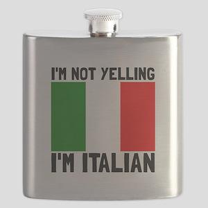 Yelling Italian Flask
