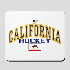 Cali Gold Hockey Mousepad