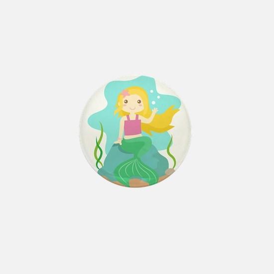Cute and Beautiful Mermaid under the sea Mini Butt
