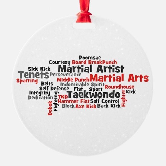 Martial Arts Taekwondo Ornament
