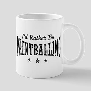 I'd Rather Be Paintballing Mug