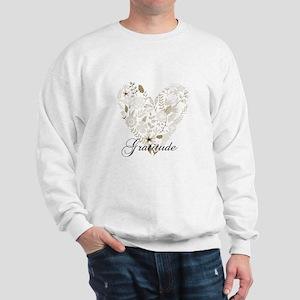 Gratitude Heart Sweatshirt