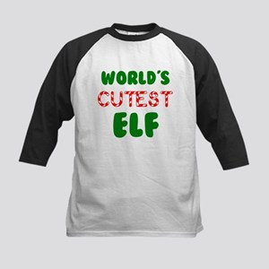 Worlds CUTEST Elf! Baseball Jersey
