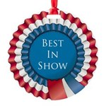Best In Show Round Ornament
