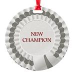 New Champion Round Ornament