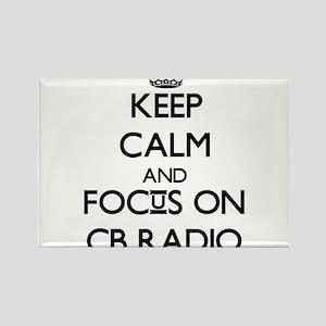 Keep calm and focus on Cb Radio Magnets