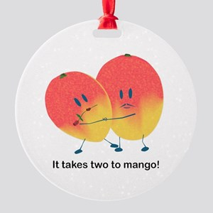 Two To Mango Ornament