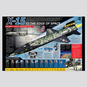 X-15 To The Edge Of Space Poster
