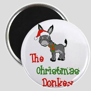 Christmas Donkey Magnets