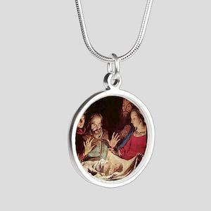 Nativity by Gerard van Honthorst Necklaces