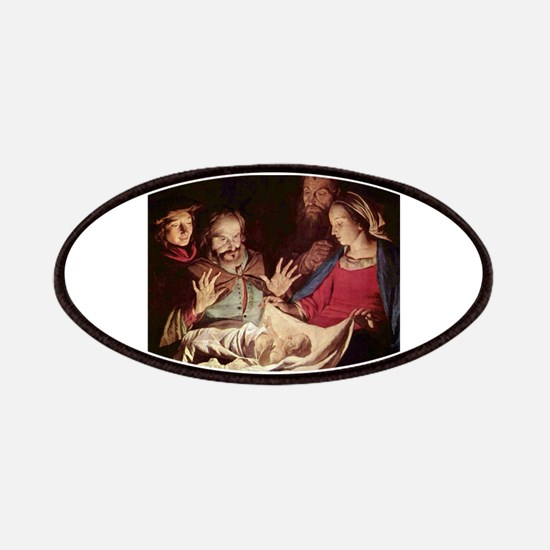 Nativity by Gerard van Honthorst Patches
