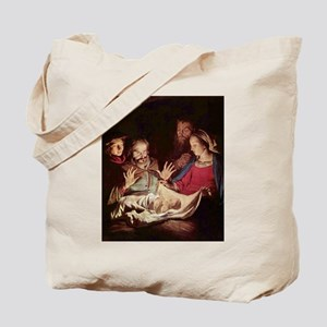 Nativity by Gerard van Honthorst Tote Bag