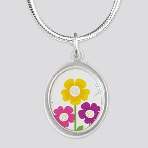 Bees with Flowers Necklaces