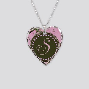 Pink woodland camo Custom Necklace
