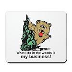 The Pooping Bear Mousepad