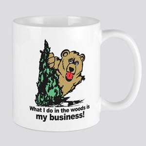 The Pooping Bear Mugs