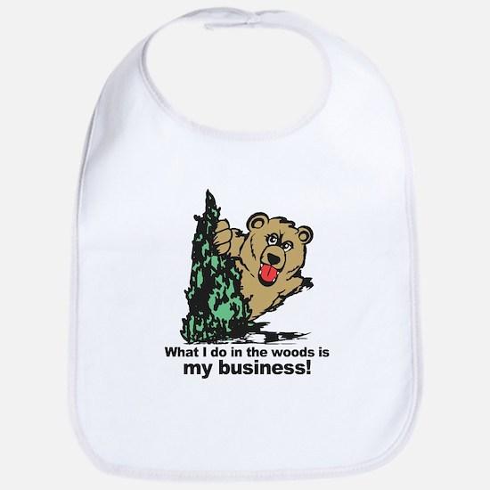 The Pooping Bear Bib