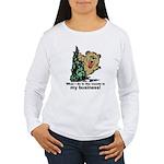 The Pooping Bear Long Sleeve T-Shirt
