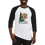 The Pooping Bear Baseball Jersey