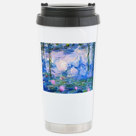 Monet's Water Lilies Stainless Steel Travel Mug