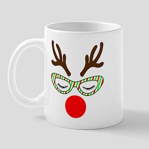 Hipster Reindoe Mugs