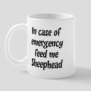 Feed me Sheephead Mug