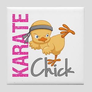 Karate Chick 2 Tile Coaster
